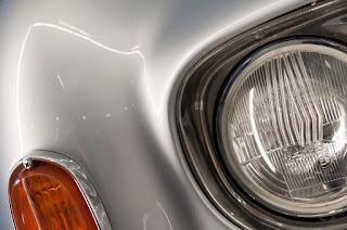 Rolls Royce headlights