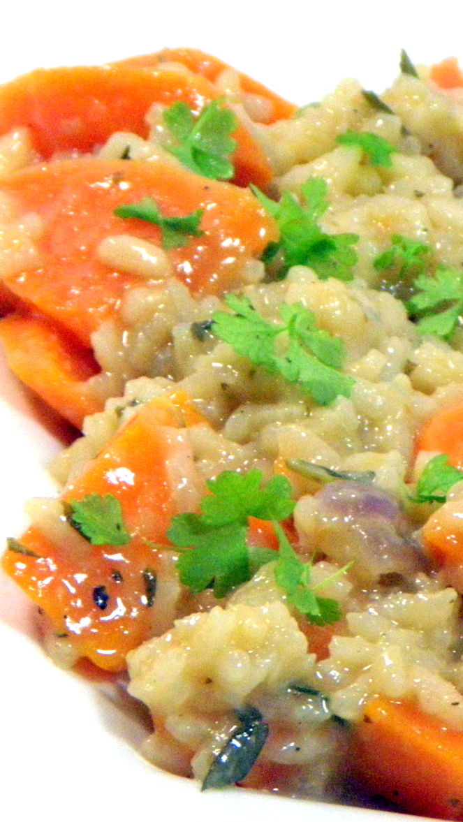 ... to Cook: Sweet Potato Risotto - Tip For Perfect Risotto Every Time