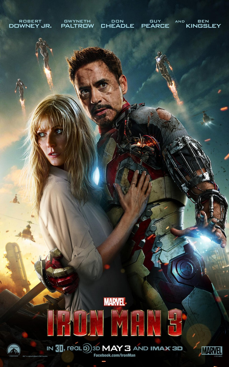 Iron man 3 teaser trailer for 3 by 3 prints