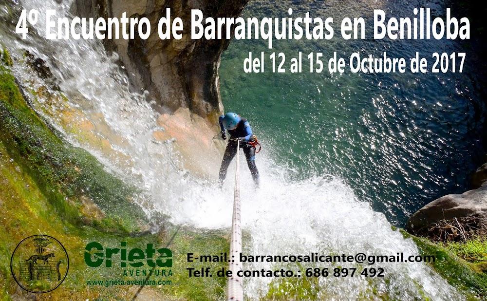 4º Encuentro de Barranquistas en Benilloba