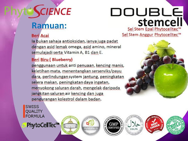 Double Stem Cell Duta Produk Umie Aida