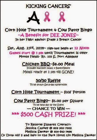 8-23 Corn Hole Tournament Benefit