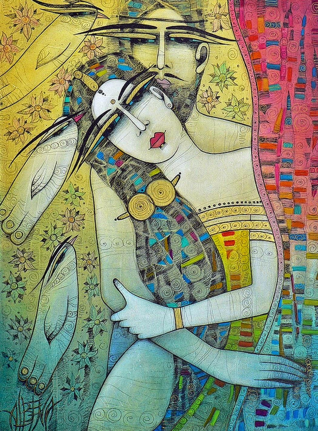 dibujos-de-amor-pinturas-en-color
