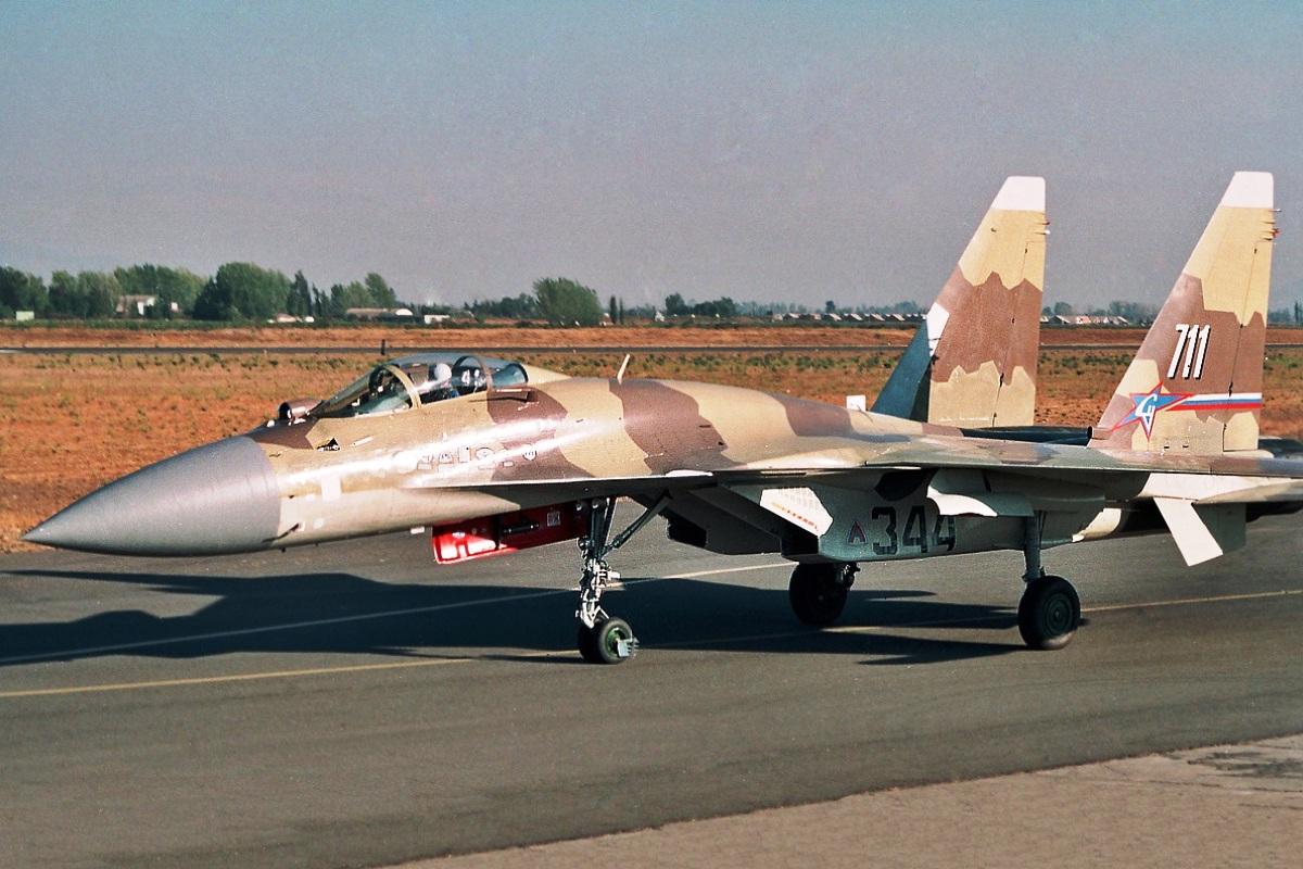 Sukhoi Su-37 Flanker-F Wallpaper 3
