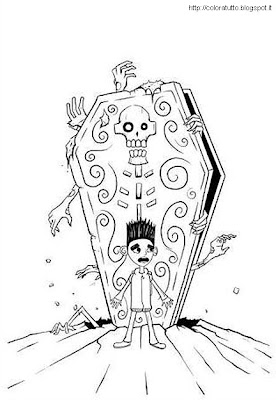 ParaNorman coloring pages to print