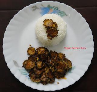 Bitter Gourd Fry (Kakarakaya Vepudu)