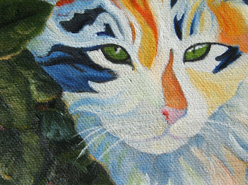 Cat Trip, detail