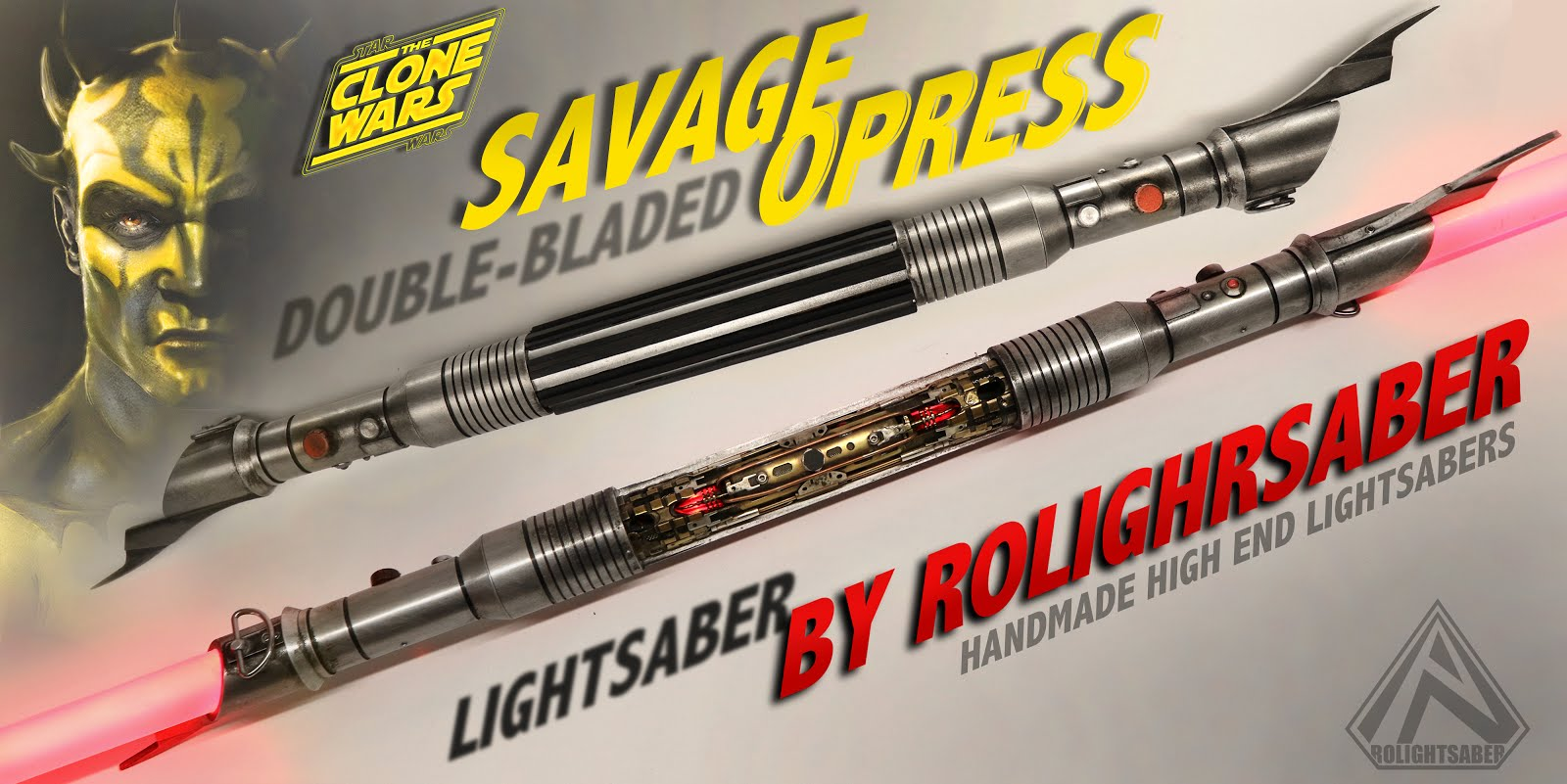 Savage Opress Lightsaber