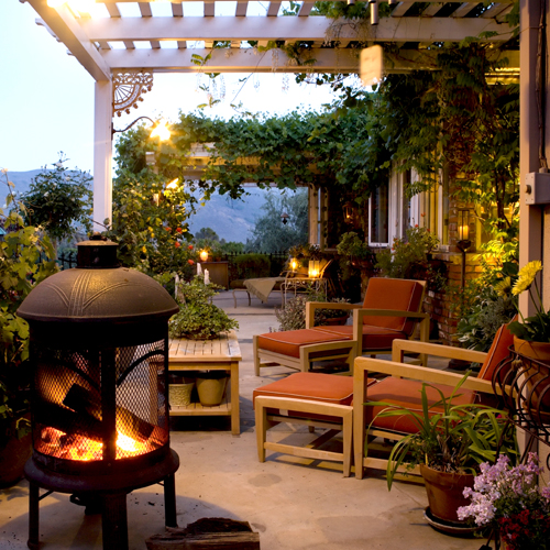 Mark cutler design guest post 3 ways to decorate outside for Decorating outdoor spaces
