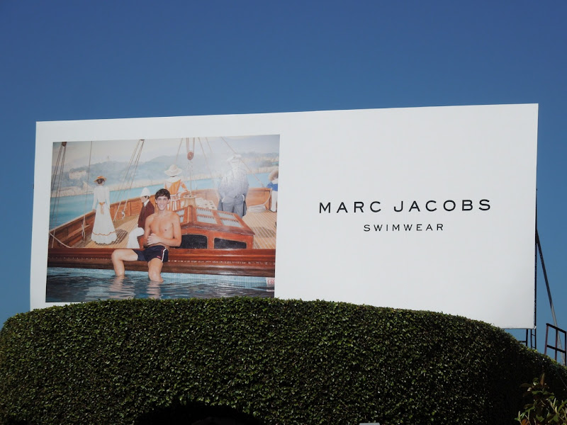 Marc Jacobs swimwear 2012 billboard