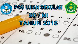 Prosedur Operasional Standar US 2015-2016 SD/MI