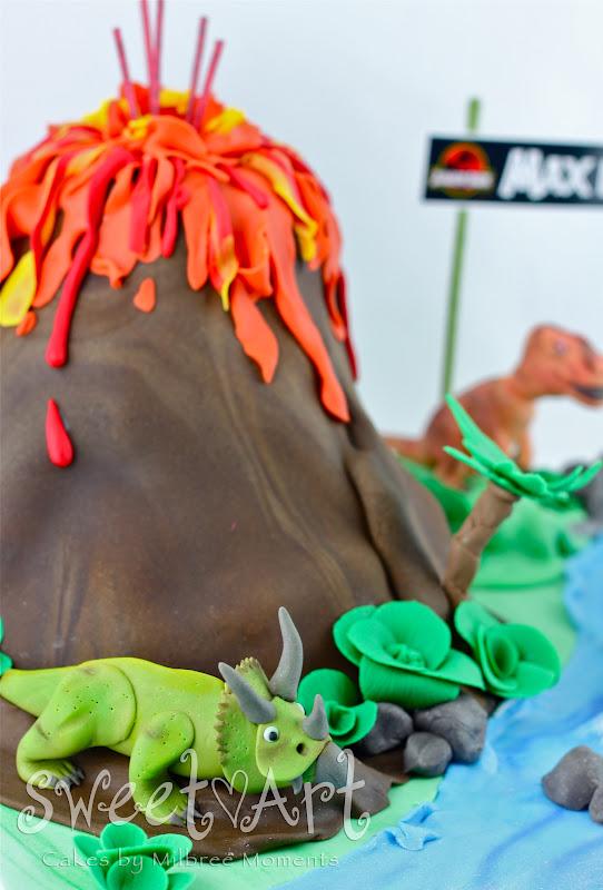 Dinosaur Edible Cake Images Nz : Sweet Art Cakes by Milbree Moments: Dinosaur / Jurassic ...