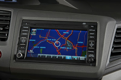 gps do honda civic 2012