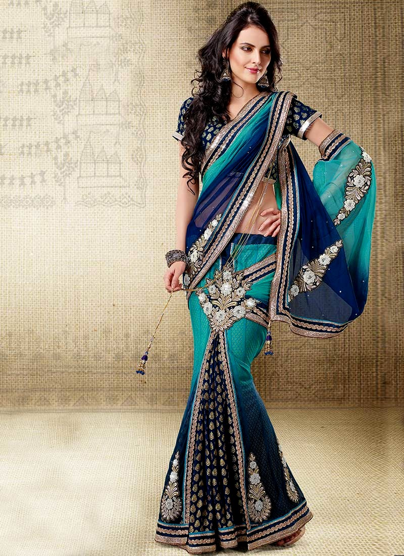 Latest Saree Collection 2013 By Indian Online Fashion Store Indian Pleated Saree 39 S Party