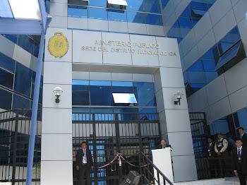 INAUGURACION DE INSTITUCIONES