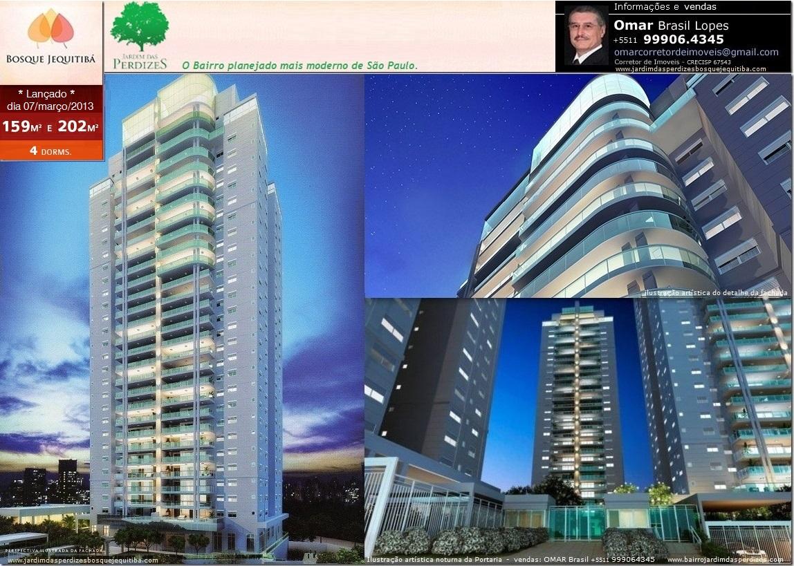 JARDIM DAS PERDIZES BOSQUE JEQUITIBÁ - 1º Condomínio do novo bairro planejado de São Paulo