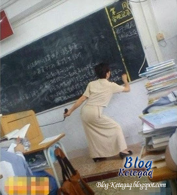 Aksi pelik guru-guru di China