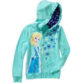 Model Jaket Frozen Untuk Anak Perempuan
