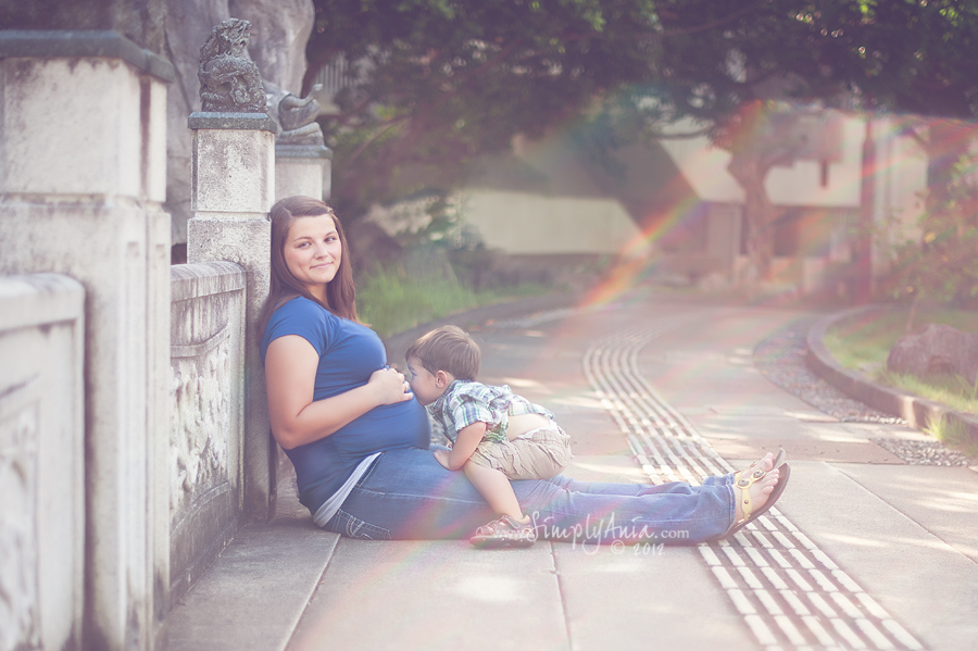 how to take maternity photos