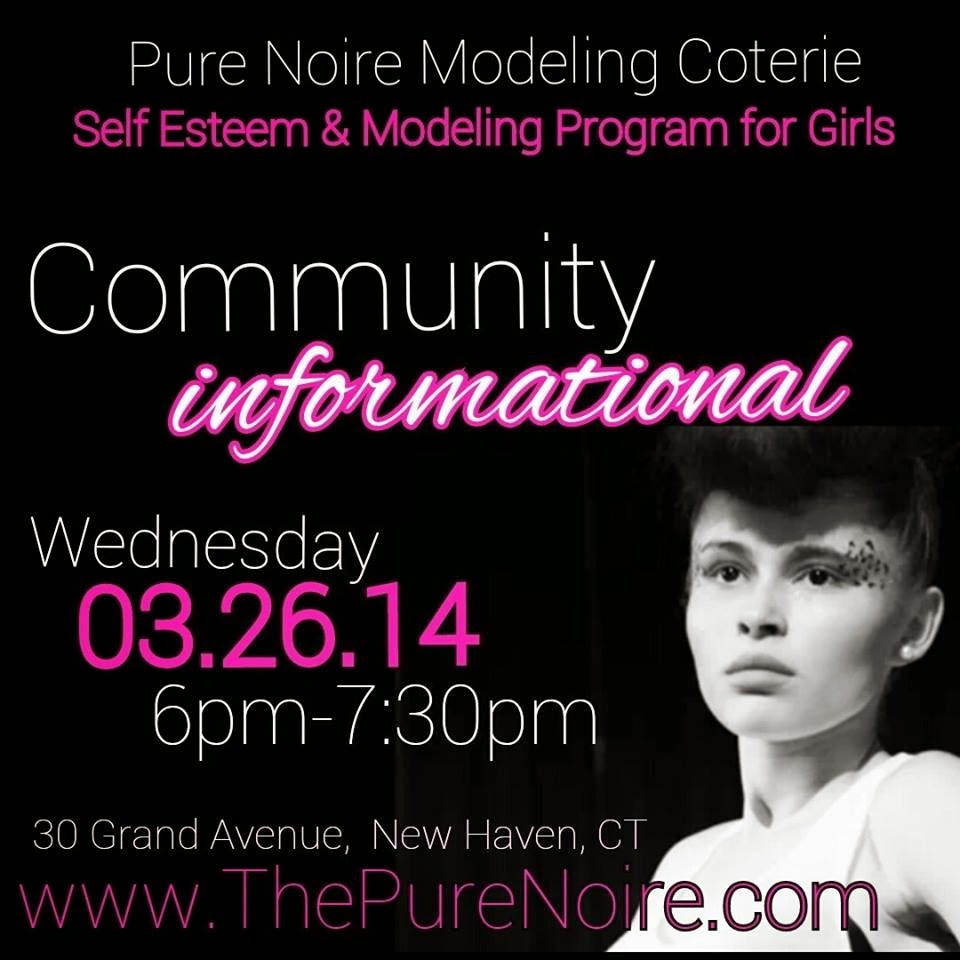 The FICKLIN MEDIA GROUP,LLC: PURE NOIRE MODELING COTERIE COMMUNITY INFORMATIONAL