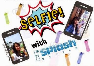 Foto Selfie with Splash Bottle Tulipware