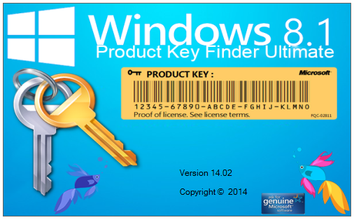 windows product key 8.1 finder