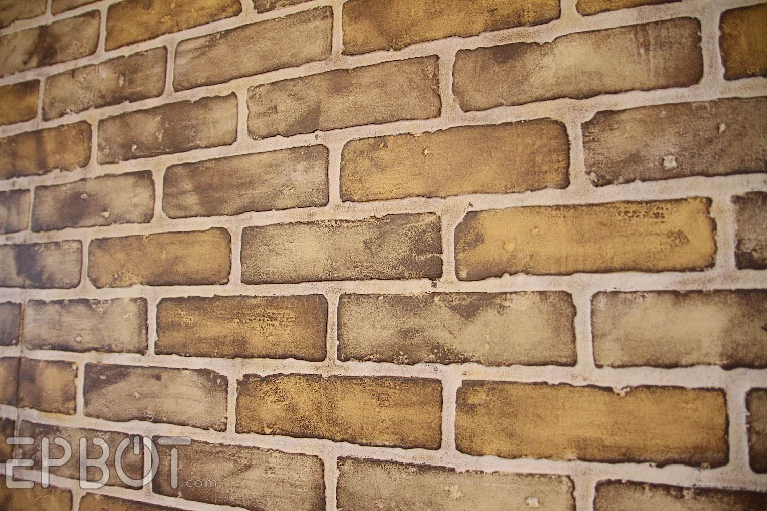 EPBOT DIY Faux Brick Painting Tutorial