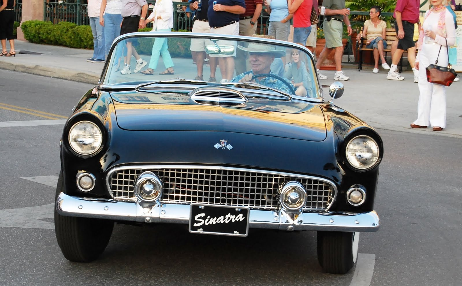 1955 blue ford thunderbird viewing gallery