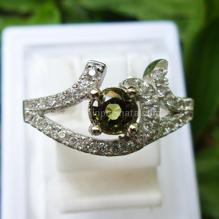 Cincin Batu Permata Chrysoberryl Ceylon - SP601