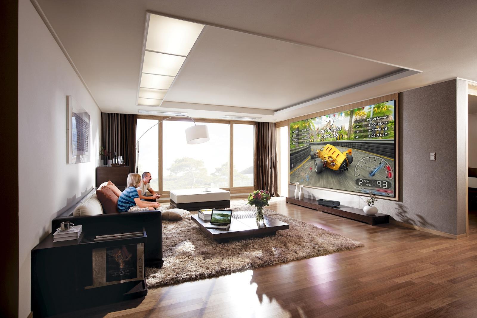 Tips y consejos para tu smart tv la distancia correcta - Tamano televisor distancia ...