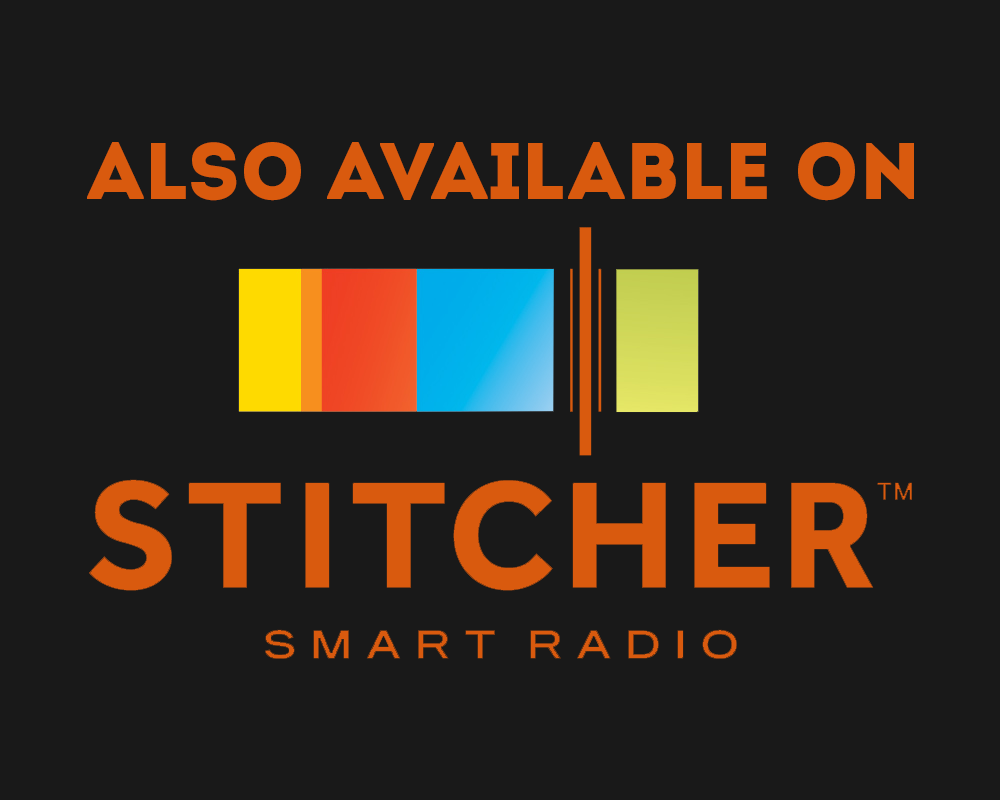 Find Us on Stitcher Radio