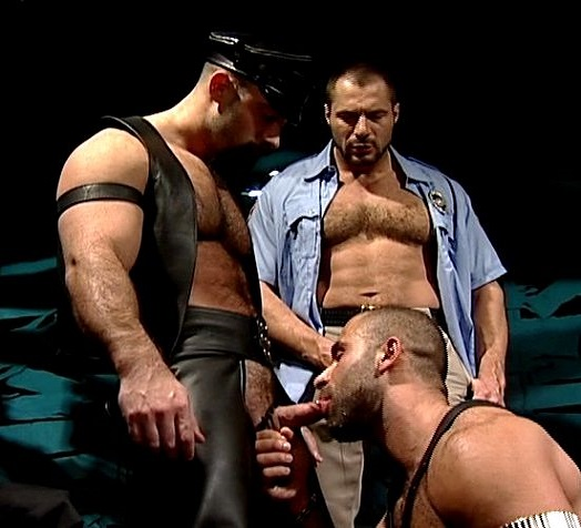 from Augustus gay cops clips