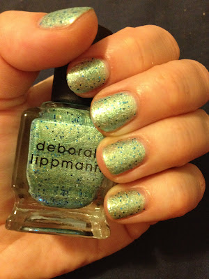 Deborah Lippmann, Deborah Lippmann nail polish, Deborah Lippmann swatches, Deborah Lippmann nail polish swatches, Deborah Lippmann Mermaid's Dream, swatches, nail polish swatches, nail polish, polish, lacquer, nail lacquer