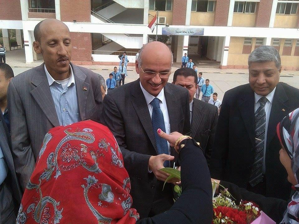 دكتور محمد يوسف,وزارة التعليم الفنى,التعليم الفنى,وزير التعليم الفنى,صالح نجدى,فاطمة تبارك