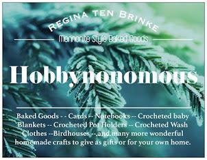 Mennonite Style Baked Goods Hobbynonomous