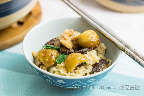 栗子雞煲仔飯 Claypot Rice with Chicken and Chestnuts03