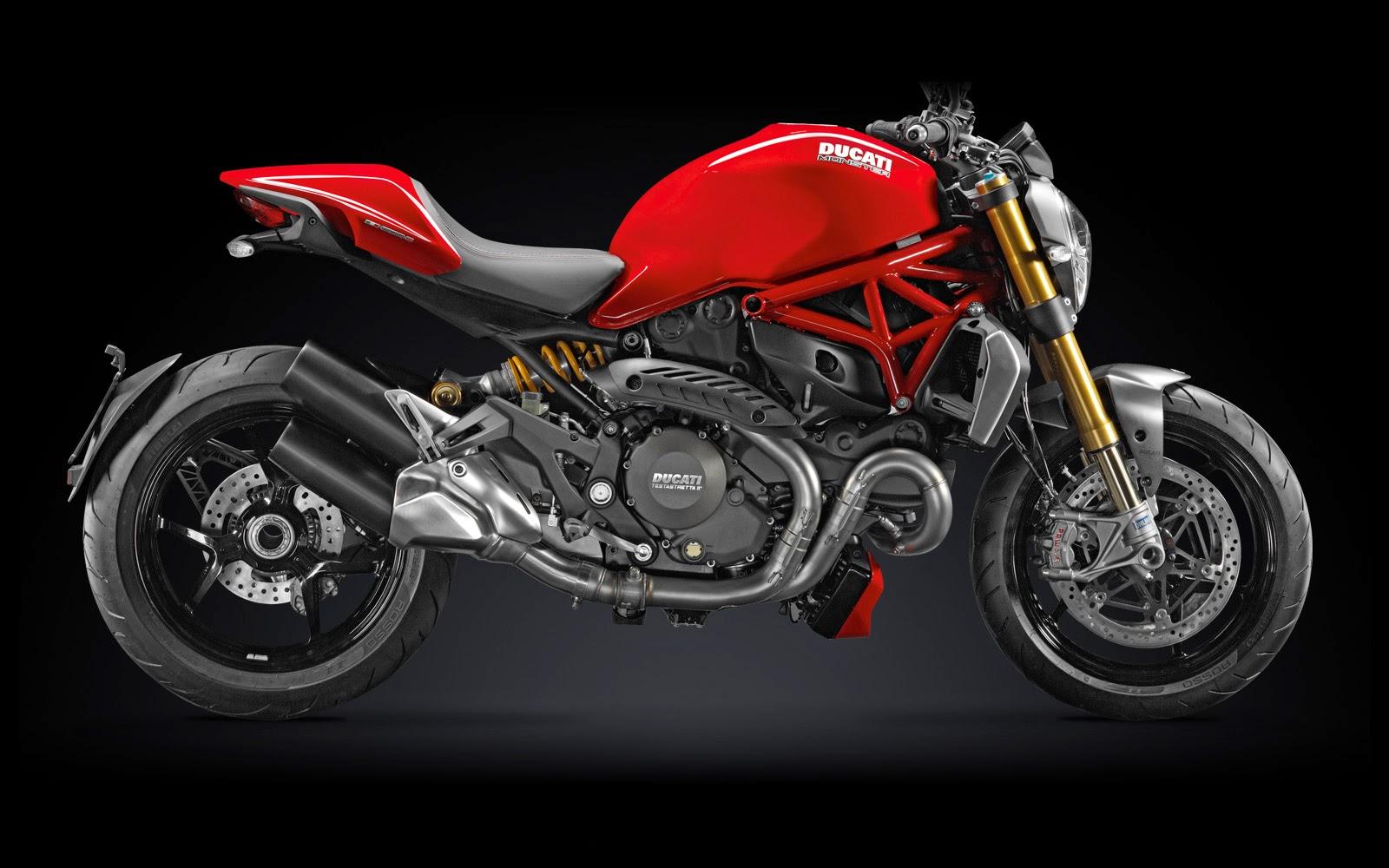 Foto Motor Ducati Monster Terbaru