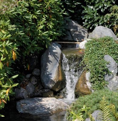 Jard n solar bombas solares para cascadas de agua for Cascadas de agua artificiales para jardin