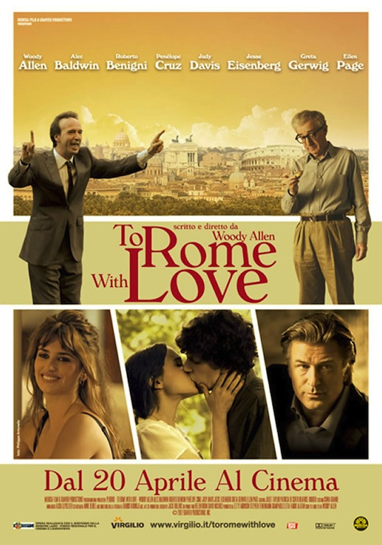 Para Roma, com Amor (To Rome with Love) BDRip Dual Áudio   Torrent