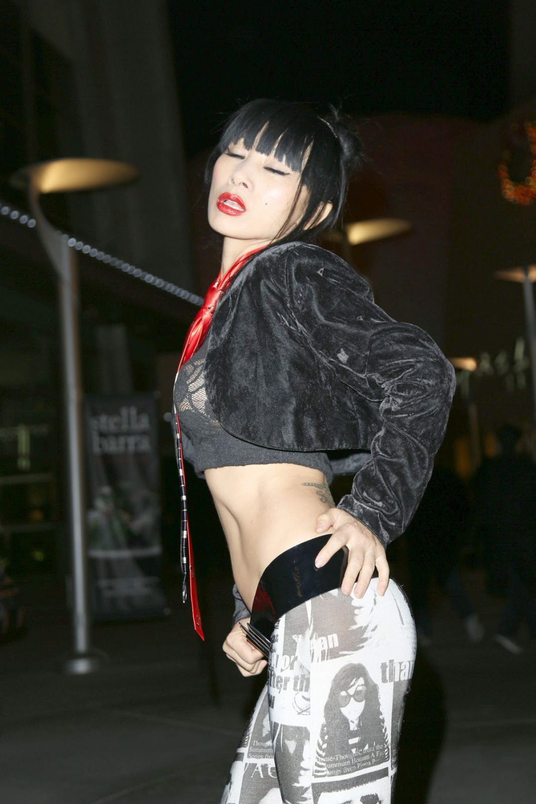 Actress, @ Bai Ling Is Seen At ArcLight Theater In Los ...