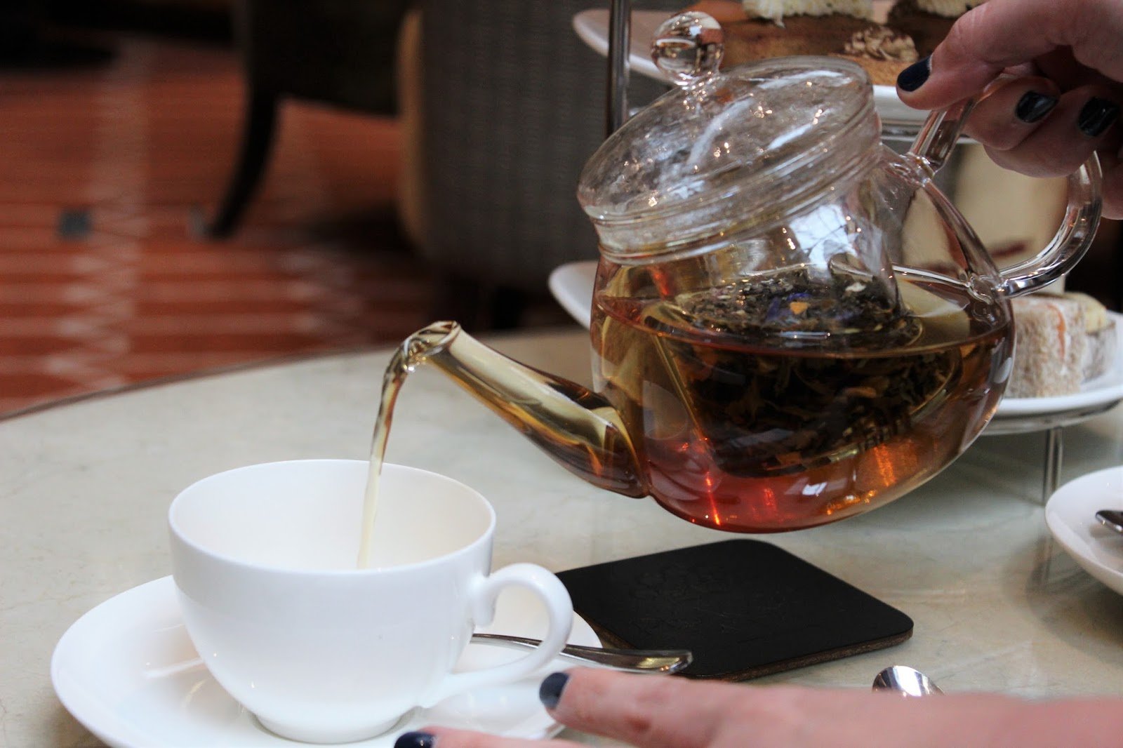 autumn afternoon tea