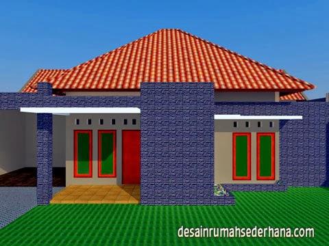 desain rumah sederhana luas bangunan 250 m2 tanah 450 m2