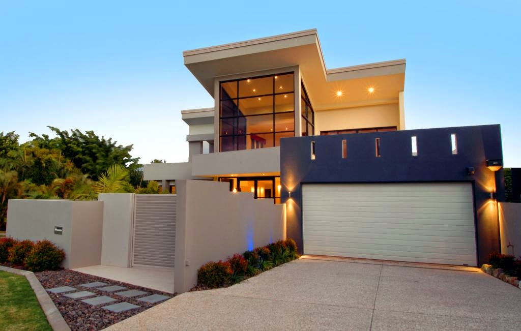 Gambar Garasi Rumah Modern