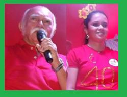 LUIZ DE GONZAGA E SUA FILHA MARA