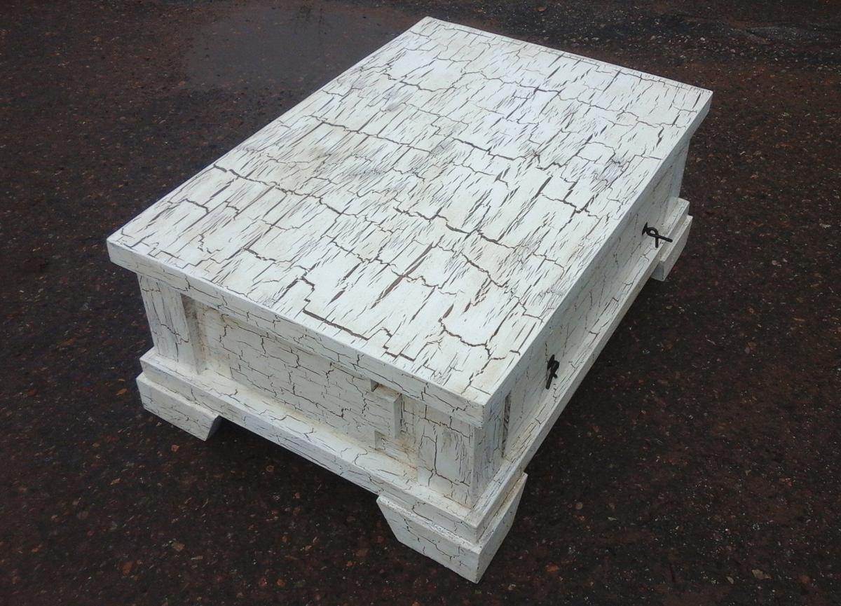 Pintar mesas de madera cool en el caso de esta mesa de - Con que pintar muebles de pino ...