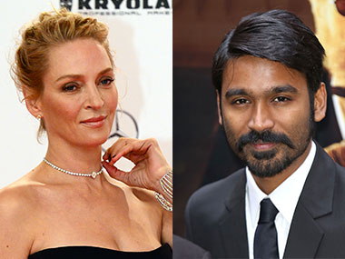 Dhanush a raid into Hollywood,Debut with Star Uma Thurman in Marjane Satrapi's movie