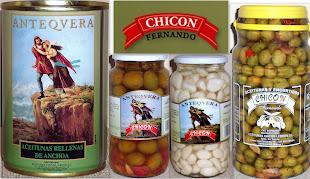 Aceitunas y Encurtidos CHICON LEBRON