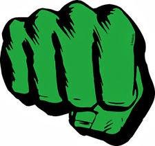 Puño de Hulk.