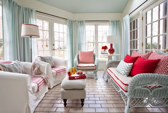 Beach Cottage Living Rooms