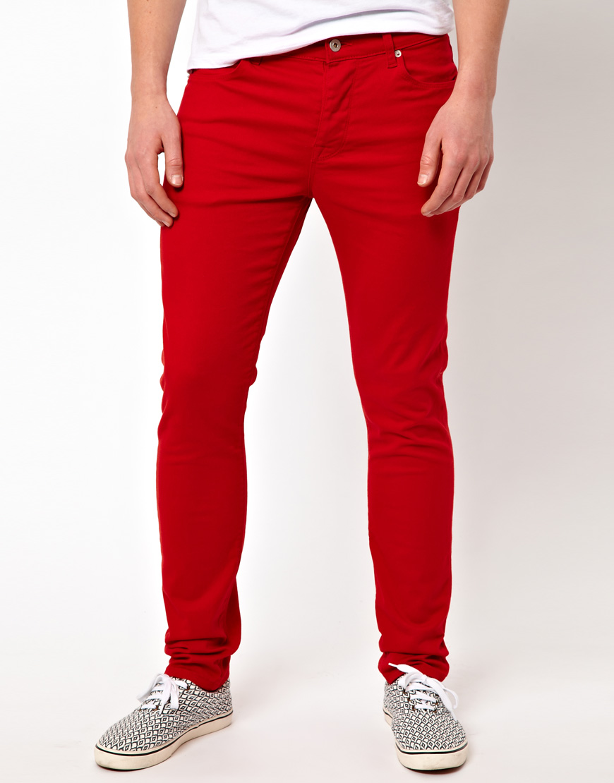 Free shipping and returns on Women's Red Skinny Jeans at coolnup03t.gq